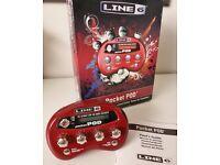 Line 6 Pocket POD guitar effects unit