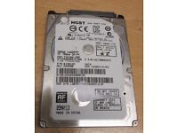 "500GB HGST / Hitachi 2.5"" Slim Internal Hard Drive, SATA II - 3Gb/s, Z5K500-500"