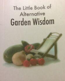 Brand new humorous gift book for gardeners, ideal stocking filler