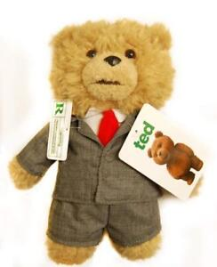 "Ted Bear in Suit 8"" Plush with Sound"