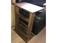 New Handmade sofa side table