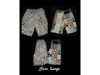 Two Pairs Of Mens Shorts