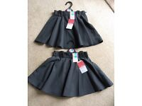 New - Marks and Spencer school skirts - various ages