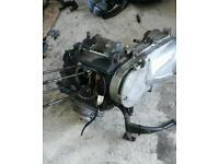 Honda pes engine 125cc. 2006
