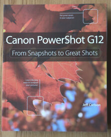 Canon G12 user manual guide by Jeff Carlson