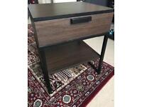 IKEA TRYSIL brown bedside table/ nightstand