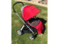 Mamas and Papas Red Sola Pram