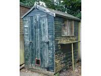 6x4 apex garden shed (in Bagshot)