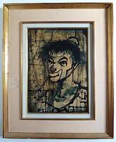 Clown Poeta Triste Melancólico Expresionista Firmado Para Identificar Xx -  - ebay.es