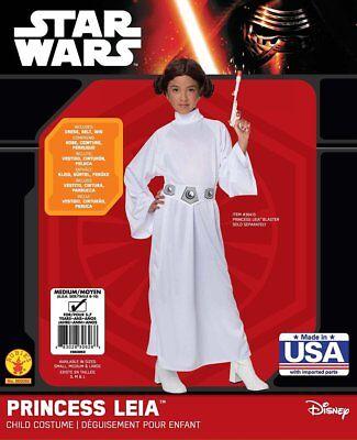 Mädchen Kind Star Wars Deluxe Prinzessin Leia - Deluxe Star Wars Prinzessin Leia Mädchen Kostüm