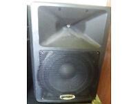 Gemini powered PA Speaker 150w