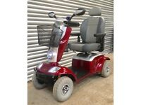 Kymco Maxi XLS - large pavement 8mph full suspension mobility scooter