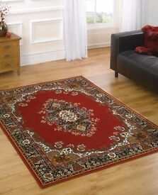 Brand new rug approx 8' x 6' good quality, anti-bacterial, washable. Collection only HR6 8HL.
