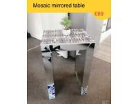 Mosaic Mirrored table