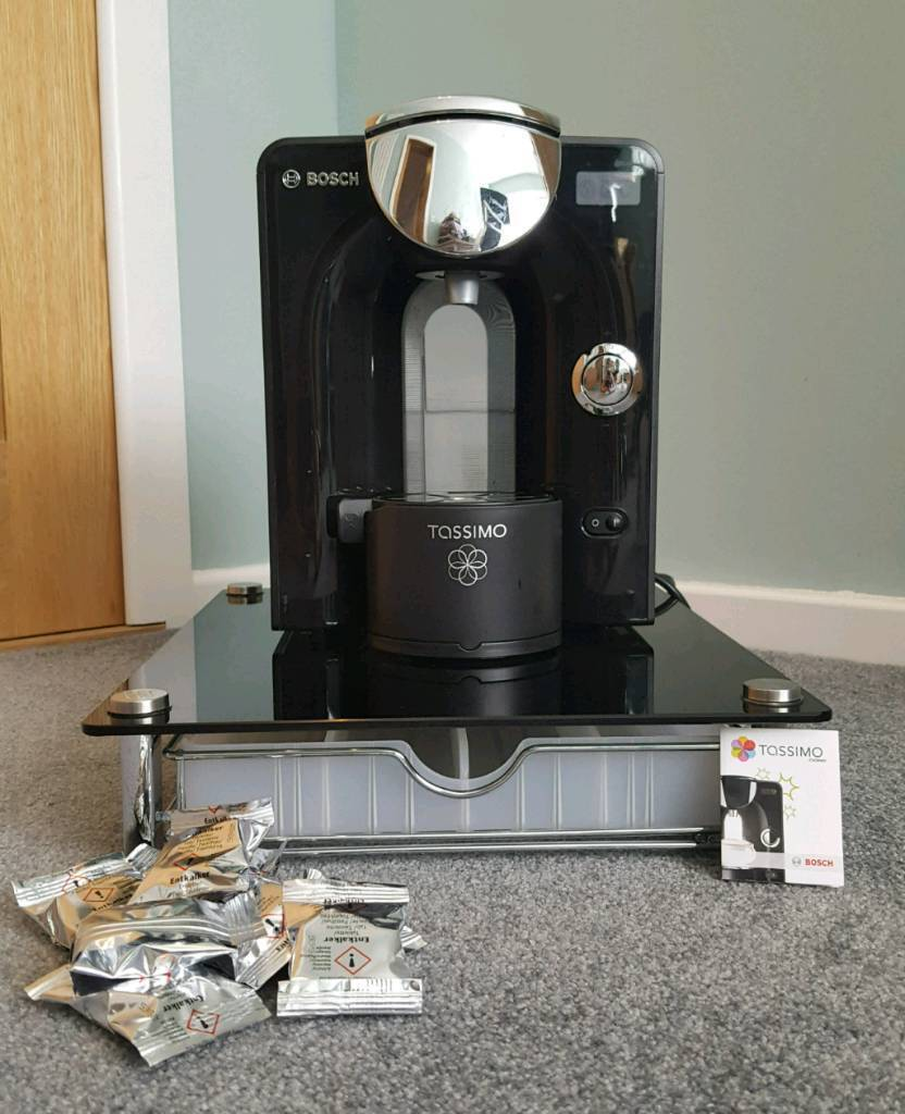 Tassimo With Glass Storage Drawer