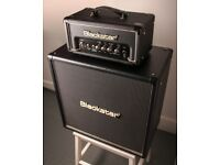 "Blackstar HT-1RH Guitar Valve Amplifier Head and Blackstar HT-408 4 x 10"" Speaker Cab"