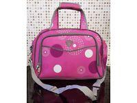 Aerolite Cabin/ Flight Carry-On Bag [Pink & Grey]