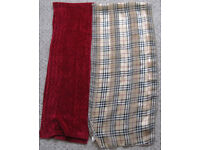 Winter Scarves(including mens) some NEW, a shawl and Belts 75p - £2.50 each