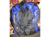 Akito XXL Motorcycle Jacket WITH Built In Body Armour