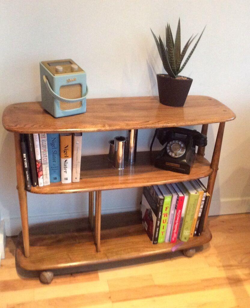Mid Century Ercol Bookcase Room Divider In Corstorphine