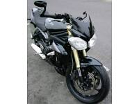TRIUMPH STREET TRIPLE 675, 1 owner from NEW, 2015 year/model, Full Service History (main dealer)