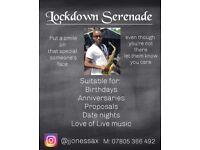Lockdown Serenade / Live music