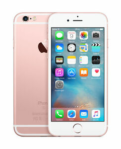 reputable site 346b5 d6b6c Apple iPhone 6S 32GB Unlocked Smartphone - Rose Gold (A1633)