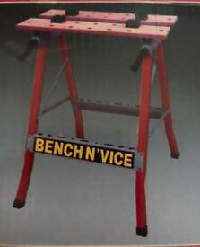 Bench and vice table