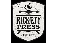 CHEF - OXFORD - THE RICKETY PRESS - DODO PUB CO - £8.5 PH + TRONC