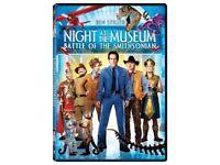 Night At The Museum: Battle Of The Smithsonian DVD (2009) Ben Stiller