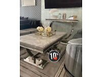 MARBLE COFFEE TABLE , CONSOLE, LAMP TABLE