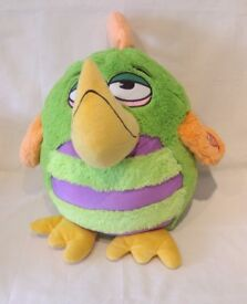 KooKoo Birds 40cm Soft Toy with Sound Effects – Green