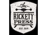 FRONT OF HOUSE | The Rickety Press, Oxford