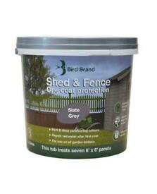 Slate Grey Fence Paint 5 litres 2 for £18