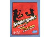 2013 'Scattergories' Card Game (as new)