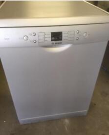 Bosch silver full size dishwasher