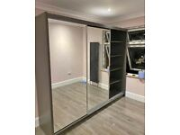 🌟New Sliding Mirror Door Wardrobes in Many Sizes and Colours 🌟 Fast Delivery 🚚