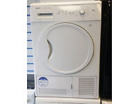 BEKO DCU8230 8kg White Condenser Tumble Dryer