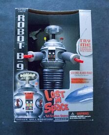 Lost in Space B9 Robot was asking £35 anybody interested can make me a reasonable offer