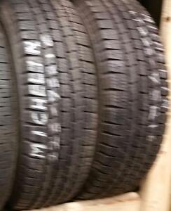 Set of two 225 75 16 tires for sale