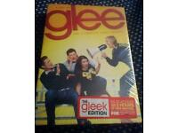 GLEE season one complete 7dvd set GLEEK edition - sealed brand new