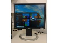 DELL 19 LCD monitor - Adjustable Stand - PC Laptop Dual View CCTV **FREE DELIVERY**