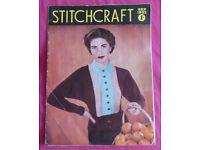 Stitchcraft Magazine (Vintage/Retro/Memorabilia), Issue September 1953