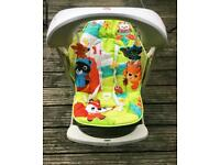Baby swing chair from fisher price