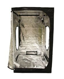 Portable Grow Tent Silver Mylar Hydroponic Dark Rooms