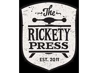 SOUS CHEF - OXFORD - THE RICKETY PRESS - DODO PUB CO - 24k + TRONC