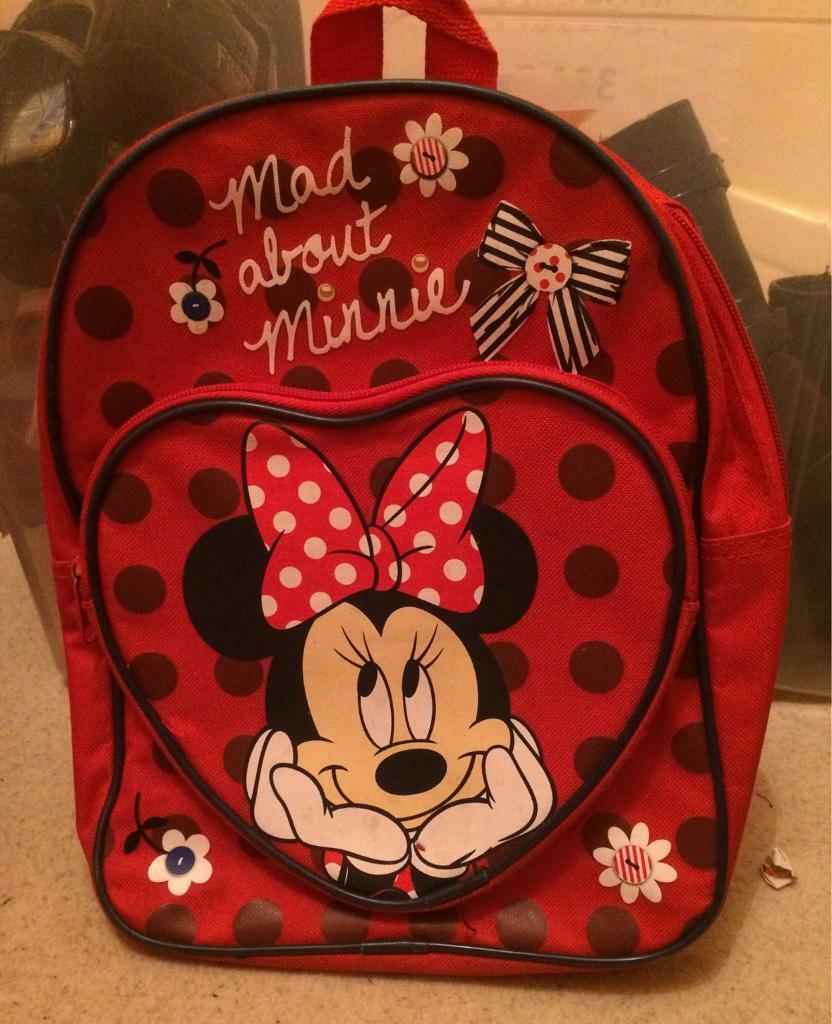 Girls - Minnie Mouse rucksack/bag