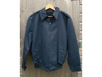 NEW - Navy Bomber / Pilots Jacket with Fleece liner (ABL - Belgian Military) - Size Large