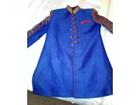 Indian Male Wedding Outfit - Jacket, Trousers and Shoes