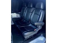 Mercedes Vito / Viano Van GENUINE BRABUS SPORT X Triple Leather Rear Folding Seats with Arm Rests
